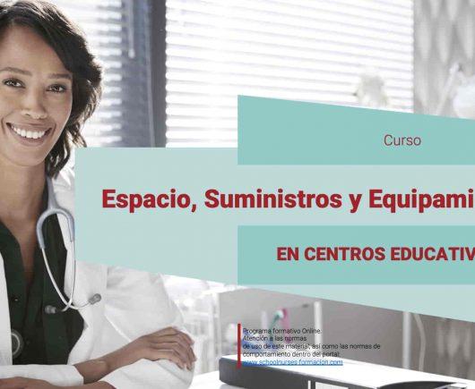 Curso Espacio, Suministros y Equipamiento de salud en el Colegio